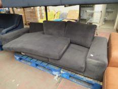 1 x SWOON Tulum Left-Hand MTO Corner Sofa in Fern EasyVelvet RRP £1599 SKU SWO-