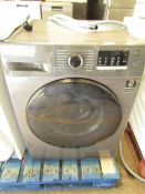 Samsung Washer dryer, it doesn't have a plug attached so we are unable to check it plus the