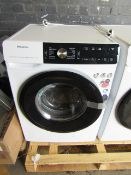 Hisense 9Kg Steam mix washing machine with Dose Assist, powers on but appears to have a faulty