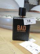 Diesel Bad Intense -75ml bottle - Around half full - RRP £40