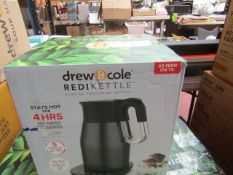 | 1x | DREW AND COLE REDIKETTLE TEMPERATURE CONTROLLED INSULATED KETTLE | PROFESSIONALLY REFURBISHED