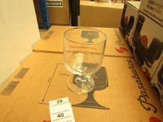 12 x Pasabahce - Tower Glasses - 300cc - Unchecked & Boxed.