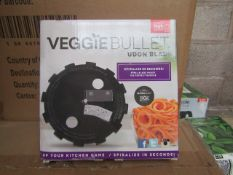   1X   BOX CONTAINING 20 UNITS OF 14 VEGGIE BULLET RIBBON BLADES   NEW AND BOXED   NO ONLINE