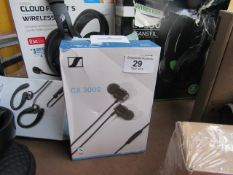 Sennheiser CX300s In ear earbuds - Tested Working & Boxed - RRP £37.99