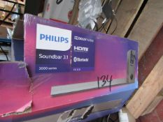 Phillips 3000 Series Soundbar 3.1 with bluetooth & Dolby Audio - Untested & Boxed - RRP £299.99