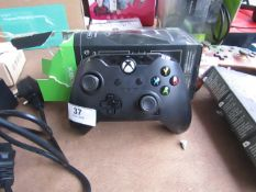 PDP Wired Xbox Controller - Raven Black - Untested & Boxed - RRP £30