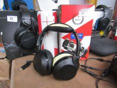 Phillips Touch Sense H805 Wireless Headphones - Untested & Unboxed but has carry case with it -