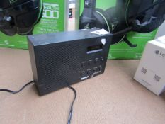 1X Groove radio clock, unchecked and no box, RRP œ-