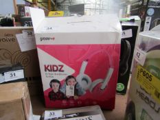 Groove-E Kids DJ Style Headphones - Untested & Boxed -