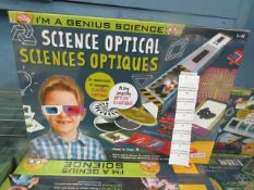 Lisciani - Im A Genius Science Optical Illusion Science Activity Set - New & Boxed.