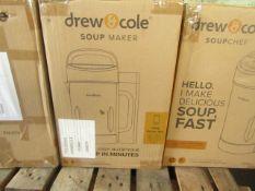 | 4X | DREW & COLE SOUP CHEFS | UNCHECKED & BOXED | NO ONLINE RESALE | RRP £59.99 | TOTAL LOT RRP £