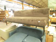   1x   PERASON LLOYD EDGE BENCH   SOFA CUSHION IS IN GOOD CONITION BUT THERE MAY BE SMALL MINOR