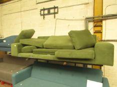   1X   LEFT HAND CHAISE END SOFA   UNCHECKED & MISSING PART OF THE SOFA   RRP £1049  