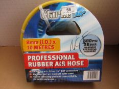 1x CL HOSE 3125751 AIR 8MMX10M, This lot is a Machine Mart product which is raw and completely