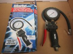 2x CL INFLATOR TPG30P TYRE, This lot is a Machine Mart product which is raw and completely unchecked