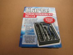 1x CL THREAD REPAIR KIT M6X1.0 CHT677, This lot is a Machine Mart product which is raw and