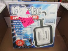 1x CL LIGHT CTL28 230V 28W WORK LAMP, This lot is a Machine Mart product which is raw and completely
