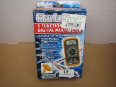 1x CL METER CDM10C DIGI 5FUNCTION, This lot is a Machine Mart product which is raw and completely