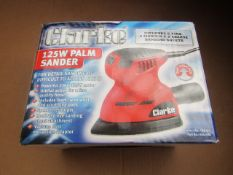 1x CL SAND CPS125 230V 125W PALM, This lot is a Machine Mart product which is raw and completely