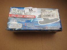 1x CL REMOVR CHT222 BALLJOINT, This lot is a Machine Mart product which is raw and completely