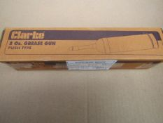 1x CL GREASE GUN CGG250 PUSH TYPE, This lot is a Machine Mart product which is raw and completely