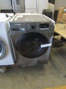 Samsung Washer dryer, it powers on ut has been dropped on the front so has quite a bit of damage.