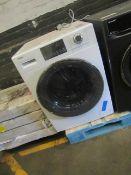 Haier HW100-B14876 washing machine, poweers on but disp;lays fault code E4.