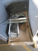 Prima 90cm Curved glass extractor, Both the light and the fan are working but the cover and filter