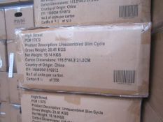 | 1X | SLIM CYCLE EXERCISE MACHINE | UNCHECKED AND BOXED | NO ONLINE RE-SALE | SKU- | RRP£199.99 |