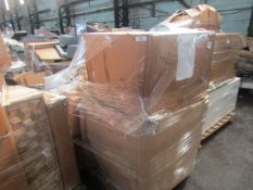   1X   PALLET OF FAULTY / MISSING PARTS / DAMAGED CUSTOMER RETURNS COX & COX STOCK UNMANIFESTED  