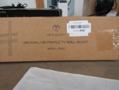 Perlesmith Medium Low Profile TV wall mount - Unchecked & boxed -