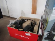 MSI Gaming Headset DS502 - Untested & Boxed - Return Label says customer just changed mind - RRP £
