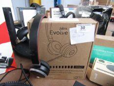 Jabra evolve 65 Bluetooth head set, unchecked in original box, RRP £114