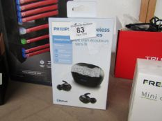 Phillips Upbeat In Ear True Wireless Earbuds - Untested & Boxed - This item has a return label