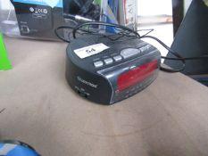 Lloytron Alarm Clock Radio - Powers on & Unboxed -