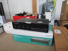 AV Link 4 way Loudspeaker Selector - Untested & Boxed -