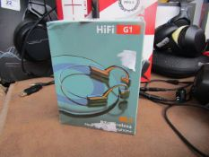Hifi G1 Rt Wireless Earbuds - Untested & Boxed -