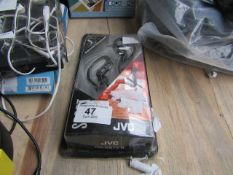 JVC Sport Wired Earbuds - Untested & Boxed -