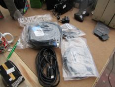 3x Varying Cables, HDMI cables & more