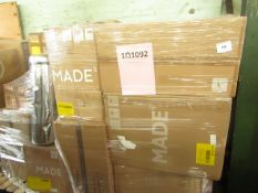 Mixed pallet of Made.com customer returns to include 15 items of stock with a total RRP of