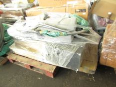 Mixed pallet of Cox & Cox customer returns to include 4 items of stock with a total RRP of