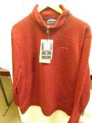 Craghopper Medwin 1/4 zip Knitted Jumper, new size XXL, RRP £60
