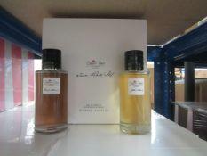 Desert Rose London - Twim Rose Eau De Parfum Vaporisateur Spray Set (2x 125ml) - New & Boxed.