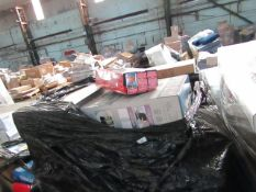 1X PALLET CONTAINING HOME ELECTRICAL & FITNESS GEAR | PLEASE BE AWARE THESE PALLETS ARE UNMANIFESTED