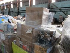 1X PALLET CONTAINING HOME ELECTRICAL GEAR | PLEASE BE AWARE THESE PALLETS ARE UNMANIFESTED &