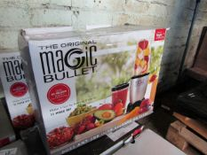 3X THE ORIGINAL MAGIC BULLETS | UNCHECKED & BOXED | NO ONLINE RESALE | RRP £40 EACH | TOTAL LOT