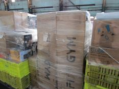 1X PALLET CONTAINING FITNESS AND SOME ELECTRICAL | PLEASE BE AWARE THESE PALLETS ARE