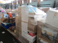 1X MIXED PALLET CONTAINING FITNESS AND SOME HOME ELECTRICAL ITEMS | PLEASE BE AWARE THIS PALLET IS