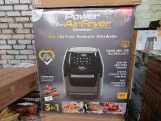 4X POWER AIRFRYER XL 5.7L | UNCHECKED & BOXED | NO ONLINE RESALE | RRP £149.99 EACH | TOTAL LOT