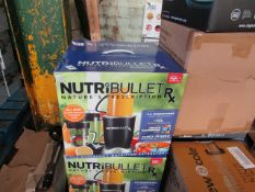 2X NUTRIBULLET RX | UNCHECKED & BOXED | NO ONLINE RESALE | RRP £130 | LOT RRP £260 |